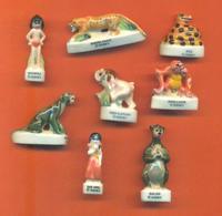 Serie Incomplète De 8/9 Feves Le Livre De La Jungle 1 1996 - Disney