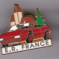 Pin's FERRARI ROUGE N° 18/250 SIGNE ARTHUS BERTRAND - Ferrari