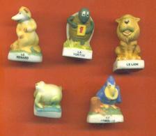 Serie Incomplète De 5/10 Feves Mat Fables De La Fontaine 2005 - Geschiedenis
