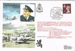 30508. Carta Flown Flight British Forces BERLIN BLOCKADE 1979, Postal Service. Lord Douglas - Covers & Documents