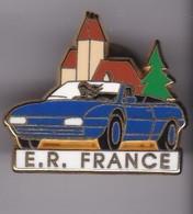 Pin's FERRARI BLEUE N° 18/250 SIGNE ARTHUS BERTRAND - Ferrari