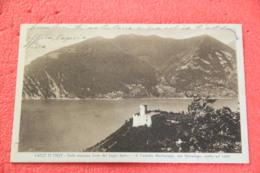 Lago D' Iseo Iseo Brescia Il Castello Martinengo Ora Salvadego1930 Ed. Vitali - Italia