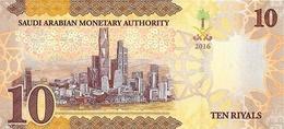 Saudi Arabia P.39 10 Riyals 2016  Unc - Arabie Saoudite