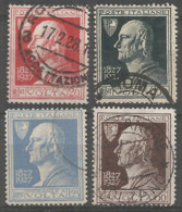Italy 1927 Year, Used Stamps , Michel # 259-62 - Oblitérés