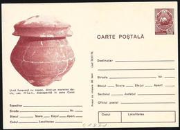 Romania/Roumanie: Intero, Stationery, Entier, Reperto Archeologico, Archaeological Find, Découverte Archéologique - Archeologia