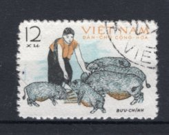 VIETNAM-NOORD Yt. 300° Gestempeld 1962 - Vietnam