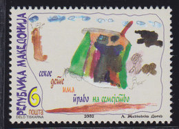 Macedonia 2002 Children's Day, MNH (**) Michel 268 - Macedonia