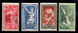 Syrie Maury N° 146/149 Neufs *. B/TB. A Saisir! - Syria (1919-1945)