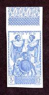 Cote Des Somalis N°158 Essai De Couleur Nsg TB!!RARE - Côte Française Des Somalis (1894-1967)