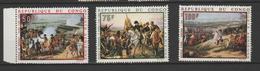 """CONGO ; P.A ; 81-82-83 """" NAPOLÉON """" - Congo - Brazzaville"""
