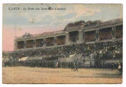 CPA Usée : NAMUR Citadelle - Stade Des Jeux - Animation - Namur