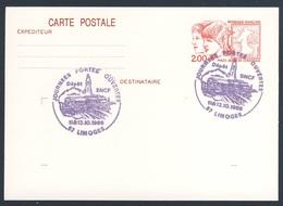 France Rep. Française 1986 Card / Karte / Carte - Journees Portes Ouvertes - Depôt SNCF, Limoges / Tage Der Offenen Tür - Treinen