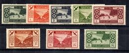 Grand Liban Maury Poste Aérienne YT N° 49/56  Neufs *. B/TB. A Saisir! - Grand Liban (1924-1945)