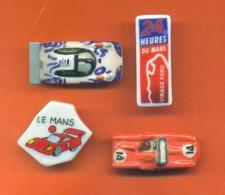 Serie Incomplète De 4/9 Feves 24H Du Mans 2010 - Sports