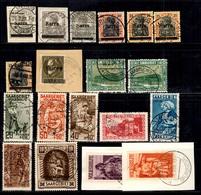 Sarre Belle Petite Collection De Bonnes Valeurs Oblitérées 1920/1934. B/TB. A Saisir! - Sarre