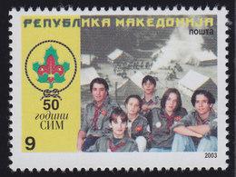 Macedonia 2003 50 Years Of Macedonian Scout Movement, MNH (**) Michel 277 - Macedonia