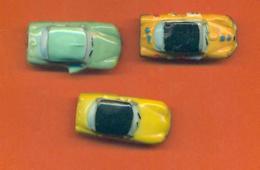 Serie Incomplète De 3/10 Feves Les DS Citroen 2011 - Sport