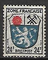ALLEMAGNE    -   1945 .  Y&T  N° 9 Oblitéré - Zone Française