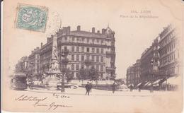 CPA - 184. LYON  Place De La République - Lyon