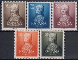 ESPAÑA 1951 Nº 1092/96 NUEVO PERFECTO - 1931-Hoy: 2ª República - ... Juan Carlos I