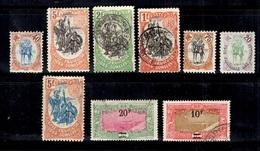 Côte Des Somalis Belle Petite Collection 1903/1925. Bonnes Valeurs. B/TB. A Saisir! - Französich-Somaliküste (1894-1967)