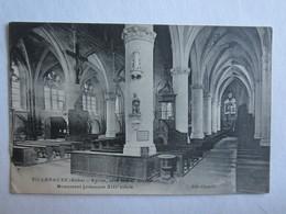 10 Aube Villenauxe La Grande église Côté Latéral Intérieur Monument Historique XIII ème Siècle - France