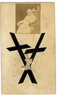PIE IX  DE LA SOUTANE DE PIE IX  DECEDE LE 7 FEVRIER 1878  -  PETITE PHOTO - Devotion Images
