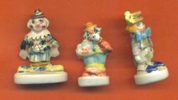 Serie Incomplète De 3/11 Feves Les Clowns 1996 - Characters
