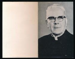 PASTOOR DEKEN LONDERZEEL - FRANS DE SMET  TISSELT 1896 - LONDERZEEL 1965  - 2 SCANS - Obituary Notices