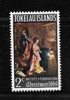 TOKELAU 1969 NOEL  YVERT N°20  NEUF MLH* - Tokelau
