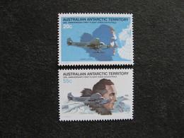 Territoire Antarctique Australien: TB Paire N° 35 Et N° 36, Neufs XX. - Australian Antarctic Territory (AAT)