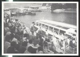 """CPM Chalon Sur Saône - Embarquement Sur """"La Saône"""" Juillet 1984 - N° 88 Sur 250 Exemplaires - Chalon Sur Saone"""