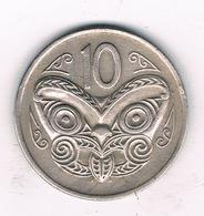 10 CENTS 1977 NIEUW ZEELAND //7844/ - New Zealand
