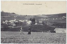 SAINT-CYR-DE-VALORGES (42) – Vue Générale. Animée. Cliché Lafay Jeune. - Sonstige Gemeinden