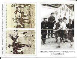 JEUX OLYMPIQUES 1908 - OLYMPICS GAMES - LONDRES LONDON - MARATHON - DORANDO - 2 CP - Jeux Olympiques