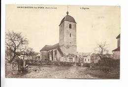 70 - RARE Cliché - BEAUMOTTE-les-PINS - L' Eglise - Other Municipalities
