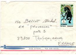 9839 - Pour La France - Polynésie Française
