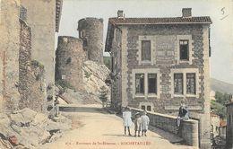 Rochetaillée (Loire) - Environs De Saint-Etienne, Hotellerie Du Château - Nouvelles Galeries - Carte Colorisée N° 272 - Rochetaillee