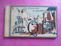 CARNET DE  18 CPA MAROC CASABLANCA CURIOSITES - Casablanca
