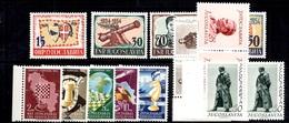 Yougoslavie YT N° 549/553, N° 607/609 Et N° 656/659 Neufs ** MNH. TB. A Saisir! - 1945-1992 République Fédérative Populaire De Yougoslavie