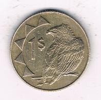 1 DOLLAR 2002 NAMIBIE /7856/ - Namibia