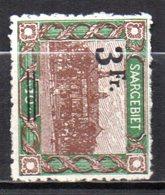 Col10    Sarre  N° 81  Neuf X MH  Cote : 23,00 Euro Cote 2015 - Unused Stamps