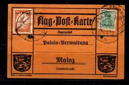 Allemagne/Reich Précurseur Poste Aérienne Michel N° IV Oblitéré Sur Superbe Carte-souvenir. B/TB. A Saisir! - Allemagne