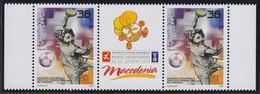 Macedonia 2003 Handball Junior World Championship, Stamp-vignette-stamp, MNH (**) Michel 286 - Macedonia