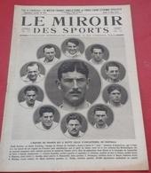 Miroir Des Sports N°45 12 Mai 1921 Equipe France Football Vainqueur Angleterre,Cdt Vuillemain,Regates Gand,Raymond Dubly - Sport