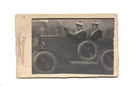 Photo Montage Marrecau. Photo En Foire. Marins Dans Automobile. - Anonyme Personen
