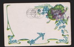 General Greetings - Flowers - Used 1908 - Greetings From...