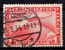Allemagne/Reich Poste Aérienne YT N° 42A Oblitéré. B/TB. A Saisir! - Poste Aérienne