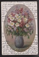 General Greetings - Flowers In Vase - Used 1926 - Greetings From...