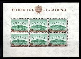 Saint-Marin YT N° 523 En Feuillet Entier De Six Timbres Neufs ** MNH. TB. A Saisir! - Saint-Marin